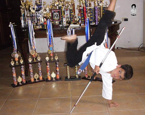Hoy se dan cita los mejores atletas de kenpo karate en Tegucigalpa.