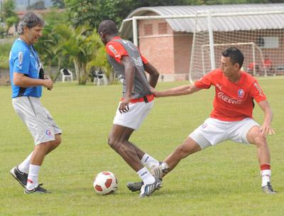 Carlos Restrepo supervisó siempre cada detalle de la práctica.