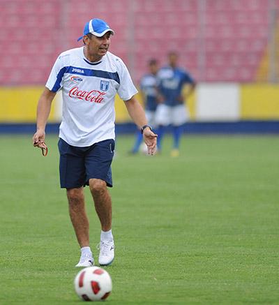 Falero se ha planteado un cruce ante Uruguay, en el Mundial.