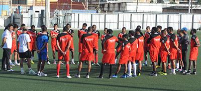Olimpia cerrará sus juegos amistosos este domingo en la ciudad de Nacaome.