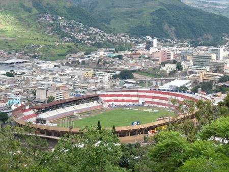 Estadio Nacional en la actualidad.