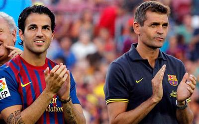 """""""Tito, gracias por todo lo que nos has dado al fútbol y al Barça. Todos los culés te estaremos eternamente agradecidos"""", ha escrito el centrocampista Cesc Frabregas."""