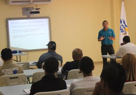 El pasado fin de semana continuó la formación de los técnicos por parte de Condepah.