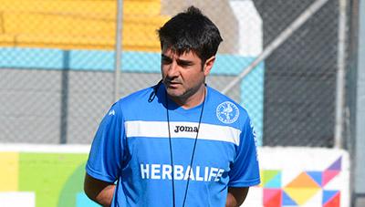 """Diego """"Barbie"""" Vázquez, técnico de Motagua."""