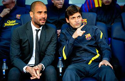 Tito Vilanova, el técnico que sucedió a Pep Guardiola en el Barcelona, ganó el título de la liga española en su única temporada a cargo de los azulgranas.