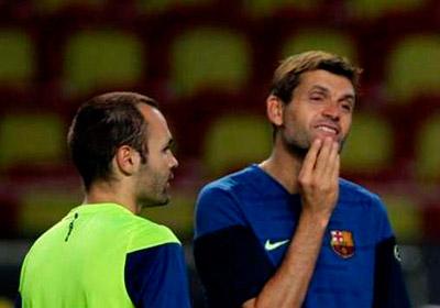 """Andrés Iniesta expresó, """"has sido y serás un ejemplo, un orgullo formar parte de tu vida"""", por la partida de Tito."""