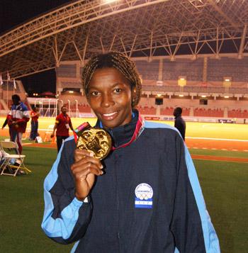 Bernárdez ha sido de las mujeres del atletismo que mayores triunfos tuvo en su carrera.