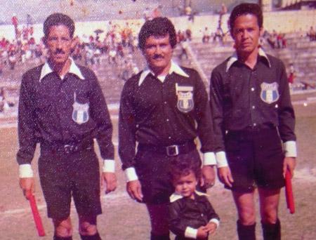 Una tripleta recordada en el arbitraje, Leoncio Oseguera, Armando Álvarez y Santiago Figueroa.