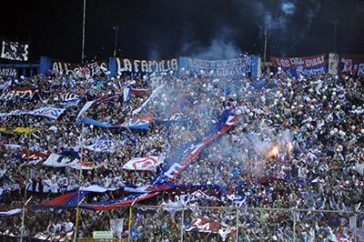 Olimpia es el equipo que más afición llevó en las vueltas, arriba de los clubes sampedranos.