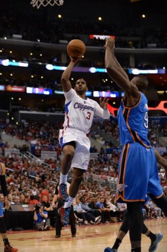 Oklahoma City Thunder v Los Angeles Clippers - Game Four