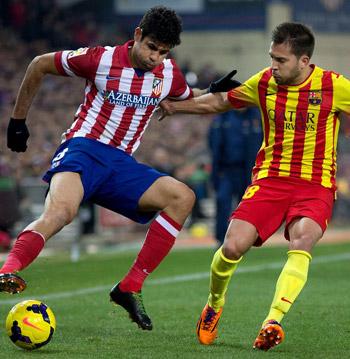 Atlético de Madrid y Barcelona dependen de sí mismos para ser campeones.