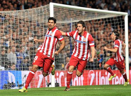 Atlético de Madrid con 88 puntos no depende de nadie para ganar la copa, mañana juega ante Málaga.