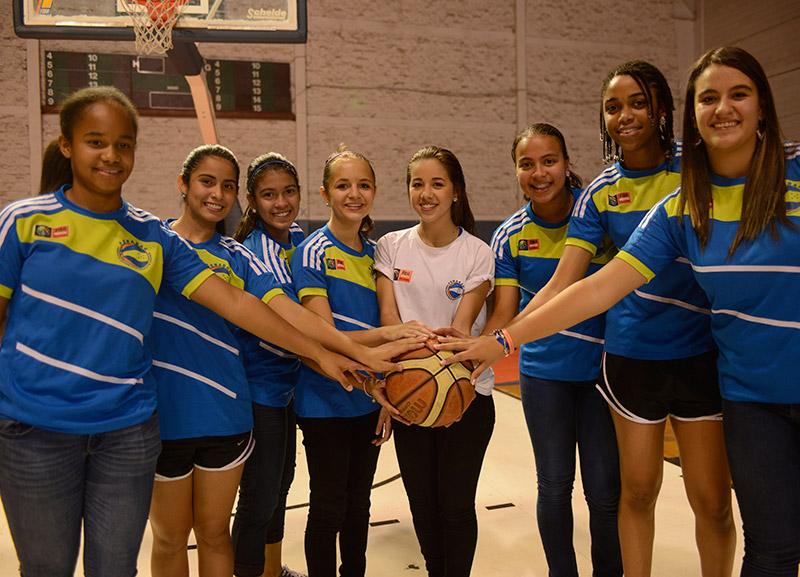 La selección de baloncesto sub-15 hizo historia en el 2014, clasificando el Premundial.