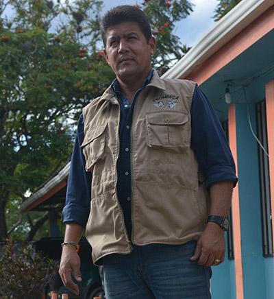 Ya retirado profesionalmente del fútbol, ahora Carlos Cruz Padilla es el director de PROMDECA.