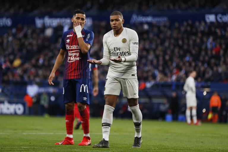 Mbappe firma la remontada del PSG ante el Caen f33532fddc1df