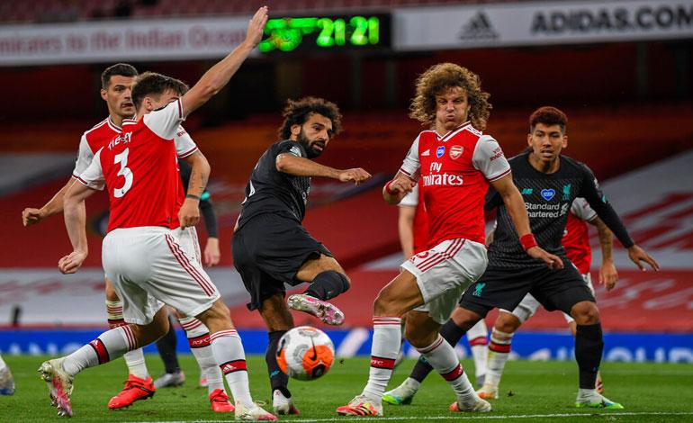 Arsenal deja al Liverpool sin récord - Diario Deportivo Más