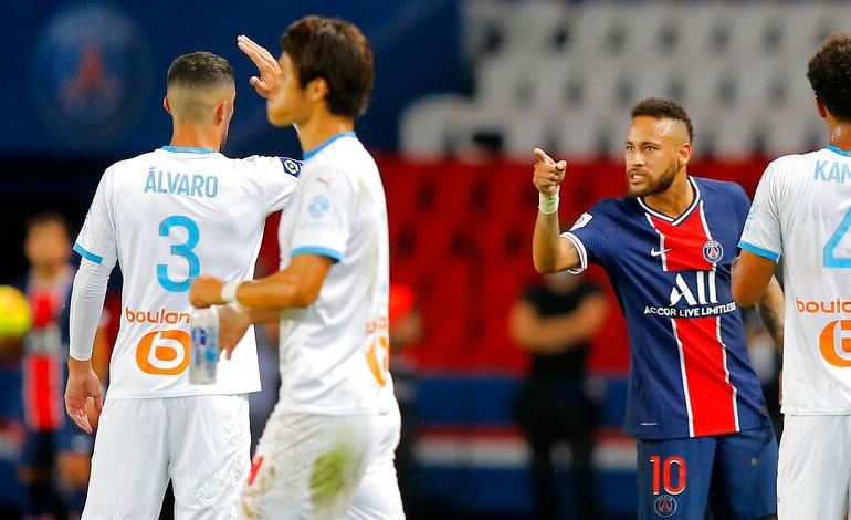 Neymar acusa a Álvaro González de racista y estalla en redes sociales tras ser expulsado del juego entre PSG y Marsella