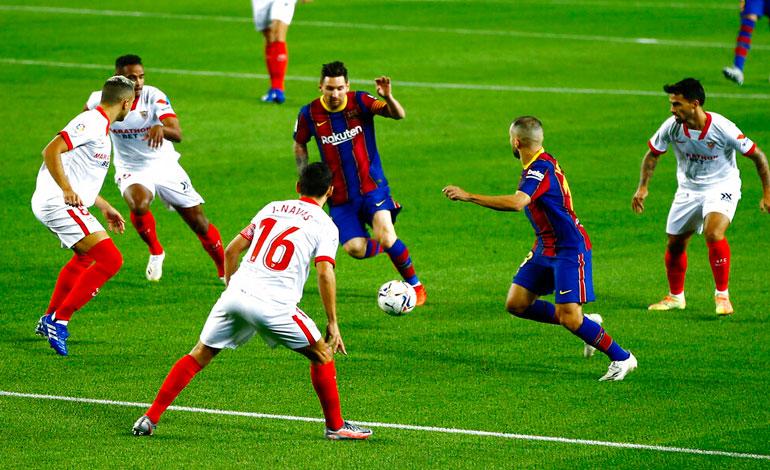 Barcelona no pudo con el Sevilla - Diario Deportivo Más