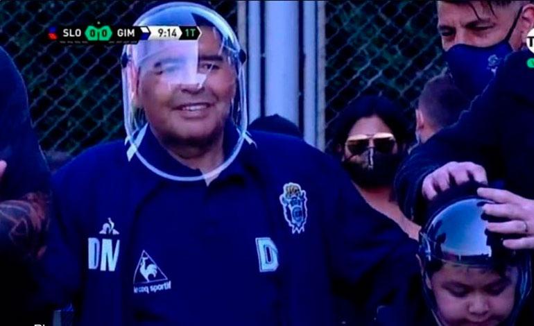 Maradona se someterá a examen de Covid-19 - Diario Deportivo Más