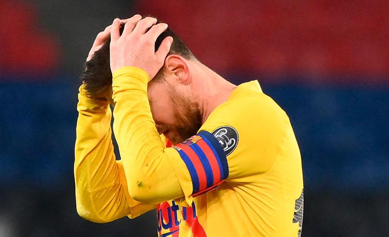 PSG elimina de la Liga de Campeones al Barcelona y a Messi - Diario Deportivo Más